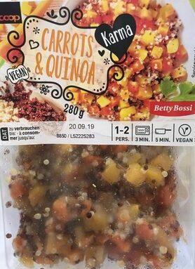 Carrots & quinoa