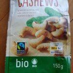 Cashews grillées et salées