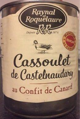 Cassoulet de Castelnaudary au confit de canar