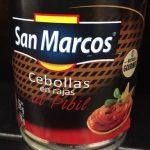 Cebollas al pibil San Marcos