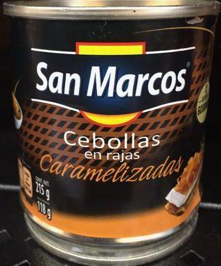 Cebollas caramelizadas San Marcos