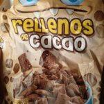 Cereales rellenos de cacao