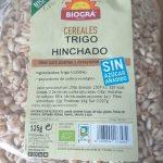 Cereales trigo hinchado