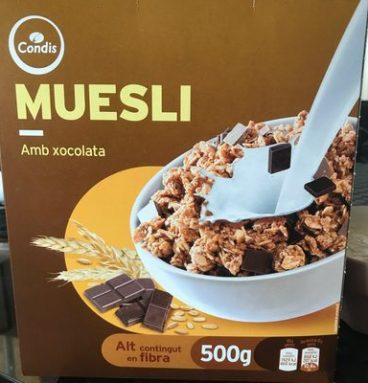 Cereals Condis Muesli Xoco