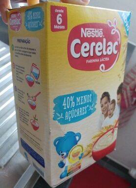 Cerelac 40% de sucres en moins