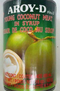 Chair de Coco au Sirop