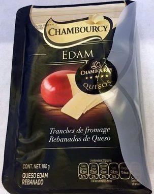 Chambourcy Edam Rebanadas de Queso