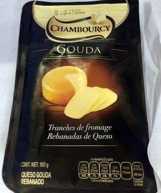 Chambourcy rebanadas de queso Gouda