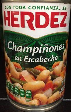 Champiñones en escabeche Herdez