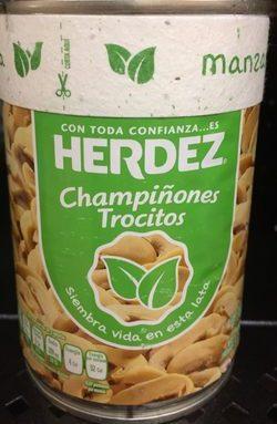 Champiñones trocitos Herdez