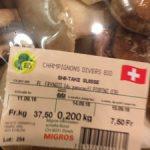 Champignons Divers bio : Shii-Take Suisse