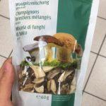 Champignons Forestiers Mélangés Séchés
