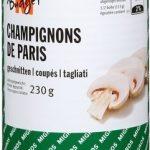 Champignons de Paris coupés