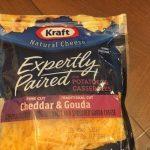Cheddar Gouda cheese