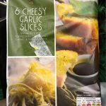 Cheesy garlic slice