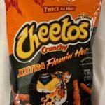 Cheetos Crunchy xxtra Flamin' Hot
