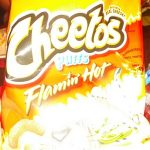 Cheetos puffs - Flamin' Hot