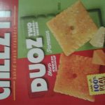 Cheez-It Duoz: Sharp Cheddar & Parmesan