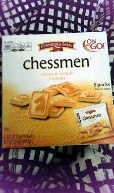 Chessmen - sweet & simple cookies