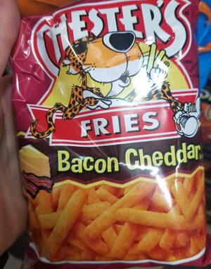 Chester's Fries Bacon Cheddar Chips