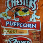 Chesters Puffcorn Cheese