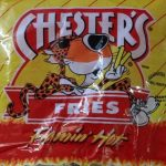 Chester's fries Flamin'hot