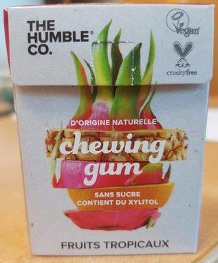 Chewing gum goût tropical