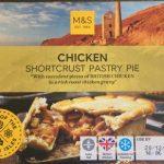 Chicken shortcrust pastry pie