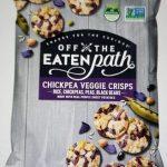 Chickpea veggie crisps