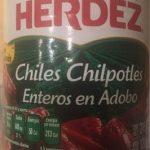 Chiles Chilpotles Enteros en Adobo