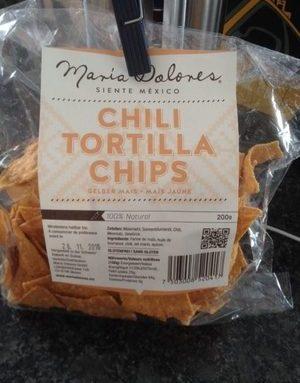 Chili Tortilla Chips Mais Jaune
