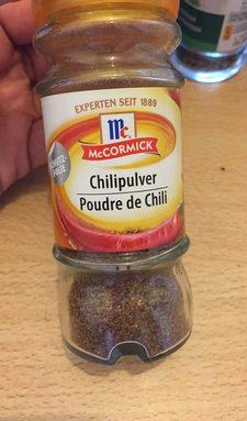 Chilipulver Poudre de chili mix