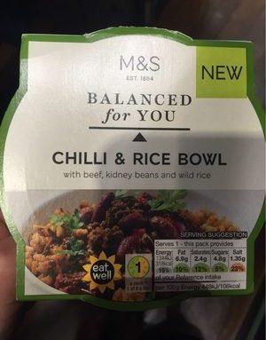 Chilli & Rice Bowl