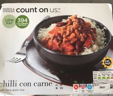 Chilli con Carne with Long Grain Rice