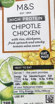 Chipotle Chicken with Rice