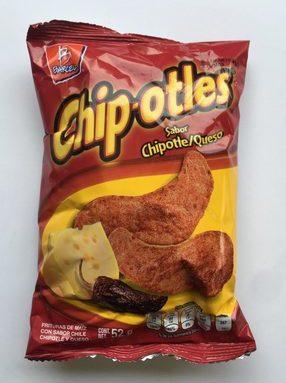 Chipotles sabor chipotle y queso