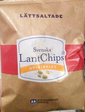 Chips Lättsaltade Lantchips