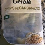 Chips de garbanzos