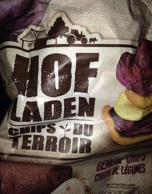 Chips du terroir chips de legumes