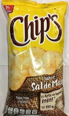 Chips sabor Sal de Mar