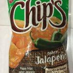 Chips sabor jalapeño