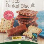 Choco dinkel biscuit