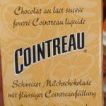 Chocolat Au Lait Suisse Fin Fourré Cointreau Liquide