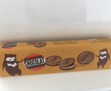 Chocolat Biscuits fourrés à la crème au chocolat