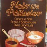 Chocolat Noir 63 % Pâtissier