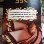 Chocolate 55% con almendras enteras