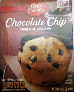 Chocolate Chip Muffin & Quick Bread Mix