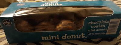 Chocolate Coated Mini Donuts