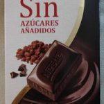Chocolate negro intenso sin azúcares añadidos