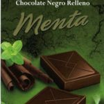 Chocolate negro relleno menta